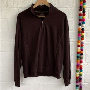 Columbia Cropped Pullover with Half zipper sz XL